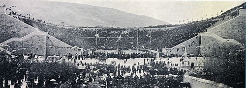 Panathenaic Stadium - Wikipedia, the free encyclopedia