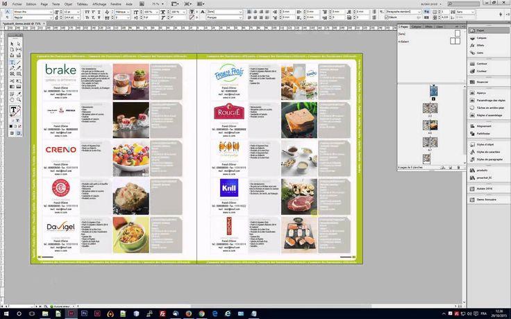 Mise en page automatique d'annuaires, guides, etc... avec InDesign+EasyCatalog et suivi du BAT. Active Publishing - Solution globale Print - Briefs catalogue...