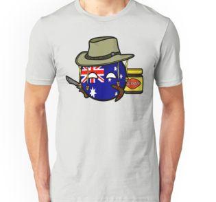 Polandball Australia by DigitalCleo on #redbubble - #polandball #australia #australiaball #countryball #g'day #vegemite