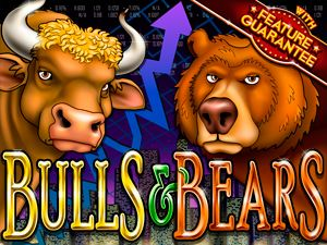 The Bulls and Bears Online Slot - The game has several features that can help you win lucrative prizes. Bulls & Bears does not have one but two Wilds – The Bear and The Bull. They appear on reel 4 and reel 2 respectively. Read more: http://www.onlinecasinocanada.ca/bulls-and-bears/