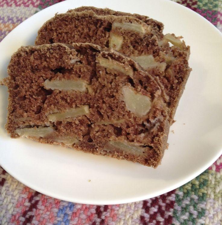 Kruidkoek en ontbijtkoek heel erg lekker maar vol met suiker. Dit is een recept voor gezonde kruidcake met stukjes appel, zonder geraffineerde suikers