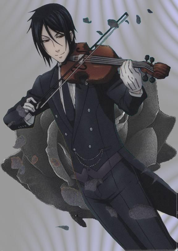 Sebastian Michaelis: because he's practically perfect in every way. Great cook, butler, and violinist. <3