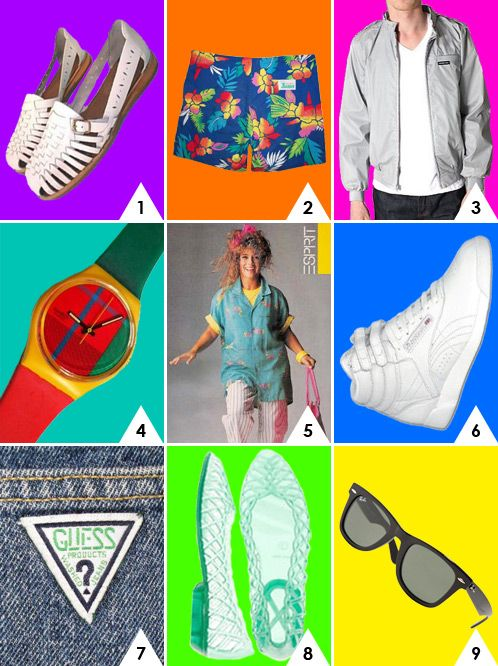 So 80s!!  Which is your favorite 80s fashion.  Tons of additional 80s fashion trends at http://www.liketotally80s.com