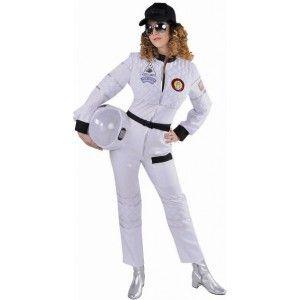 Costume Déguisement astronaute femme deluxe