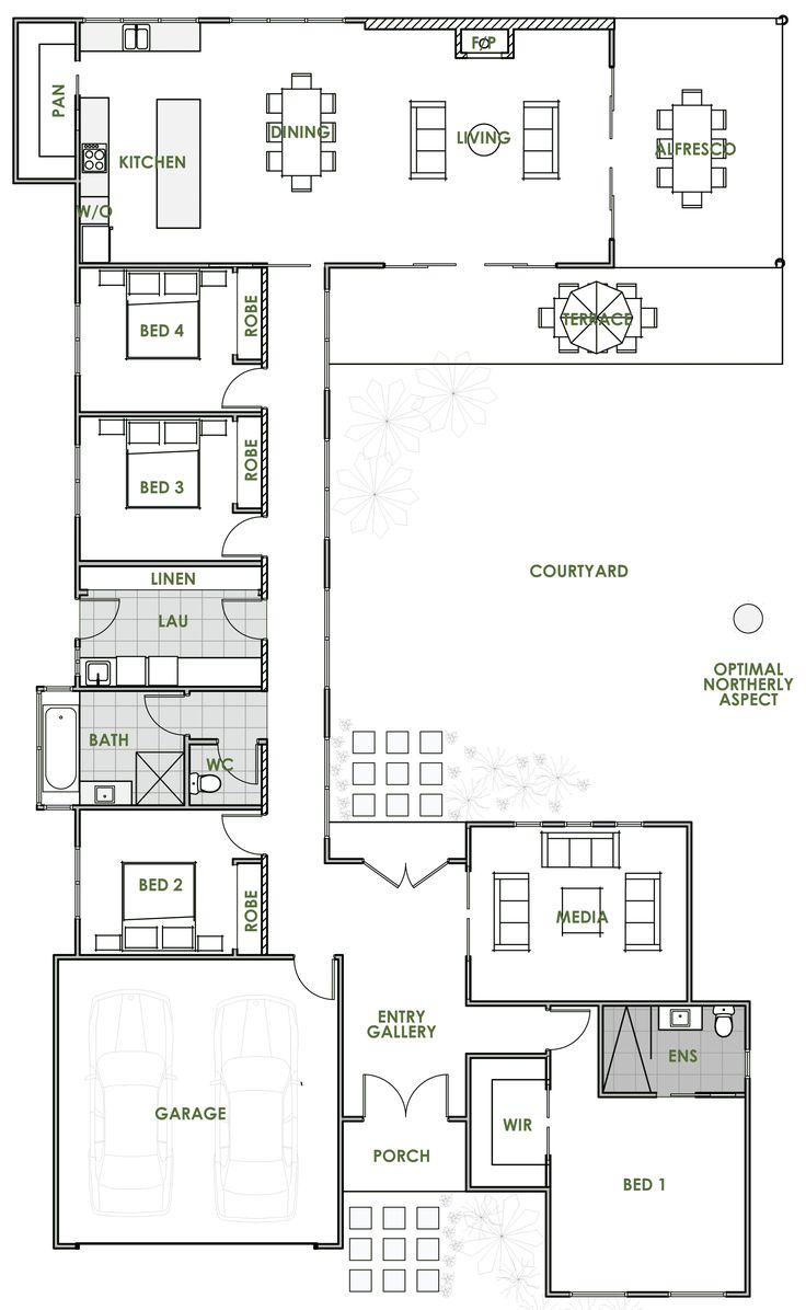 the 25+ best house plans australia ideas on pinterest | one floor