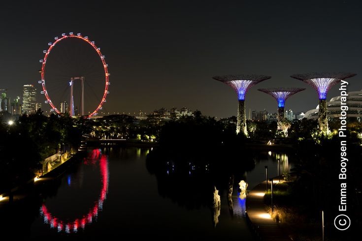 Photo by Emma Booysen Photography. Singapore Flyer