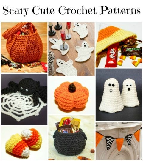 10 Scary Cute Halloween Crochet Patterns | www.petalstopicots.com | #crochet #Halloween