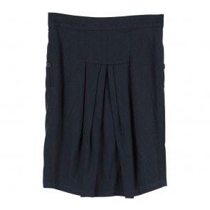 Black Preppie Skirt