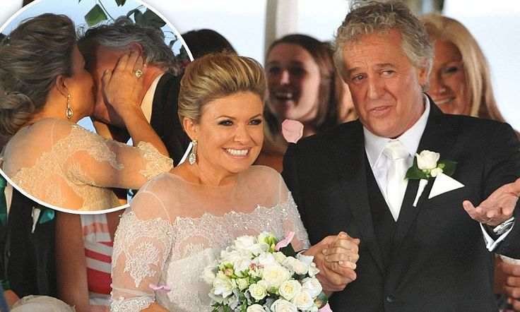 Home And Away cast film scenes for Marilyn and John's wedding