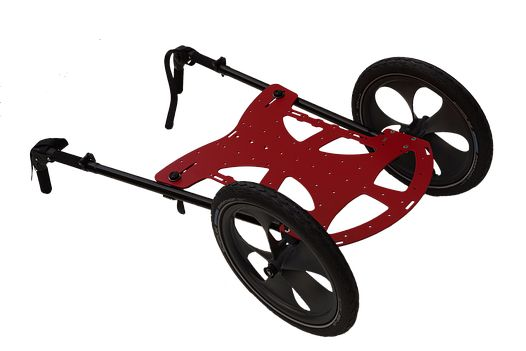 The BENPACKER is. It can be used for backpacking and pilgrimage, too. You can transform it into a bicyle trailer.