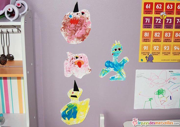peindre des monstres avec des poireaux activit halloween peindre avec des l gumes. Black Bedroom Furniture Sets. Home Design Ideas