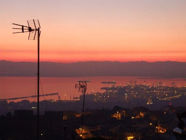 Θέα του λιμανιού, Άνω Πόλη / thessaloniki