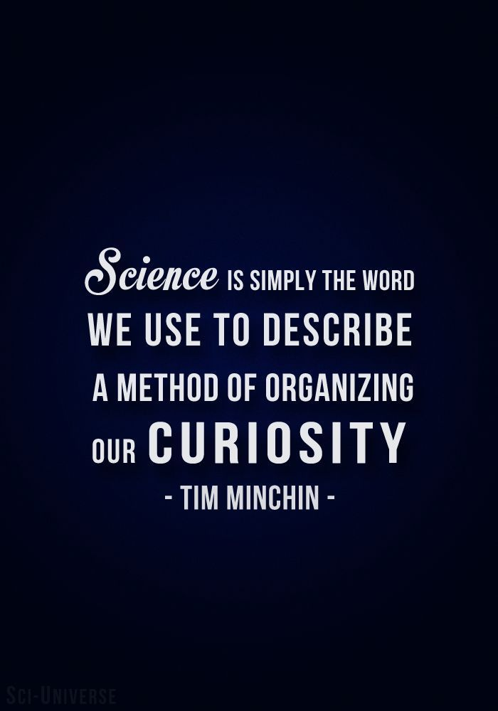 Science is simply the word we use to describe the method of organizing our…