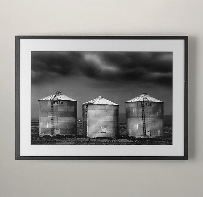 Cole Thompson: Grain Silo Series Silo 4