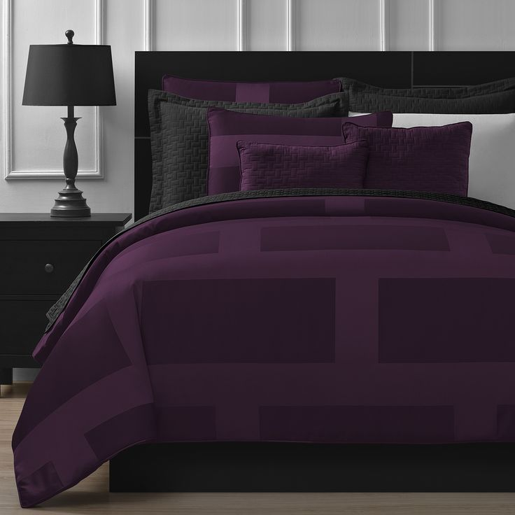 Update the look of your sleeping space with this modern style comforter set. Crafted with 100-percent soft microfiber, this set is hypoallergenic, soft to the touch and durable enough for every day us
