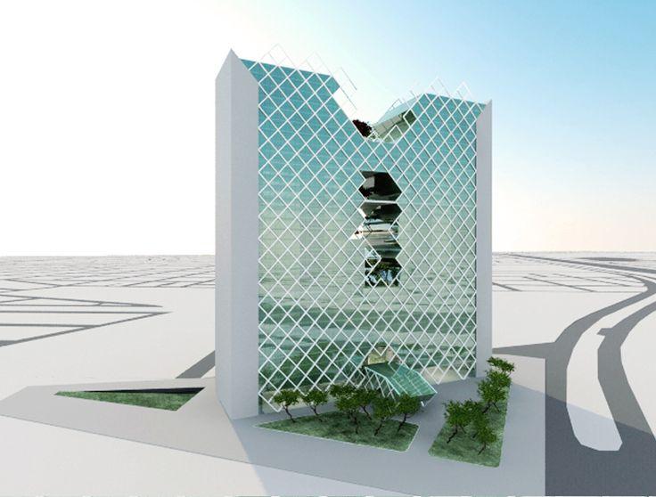 Torre Alpha Laval - com José Vagner Garcia