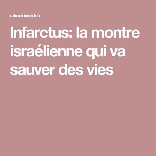 Infarctus: la montre israélienne qui va sauver des vies