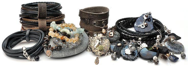 Pimps & Pearls   Eigentijdse handgemaakte lederen sieraden en accessoires. Nu bij LaVita en vanaf november wordt de collectie heel uitgebreid!