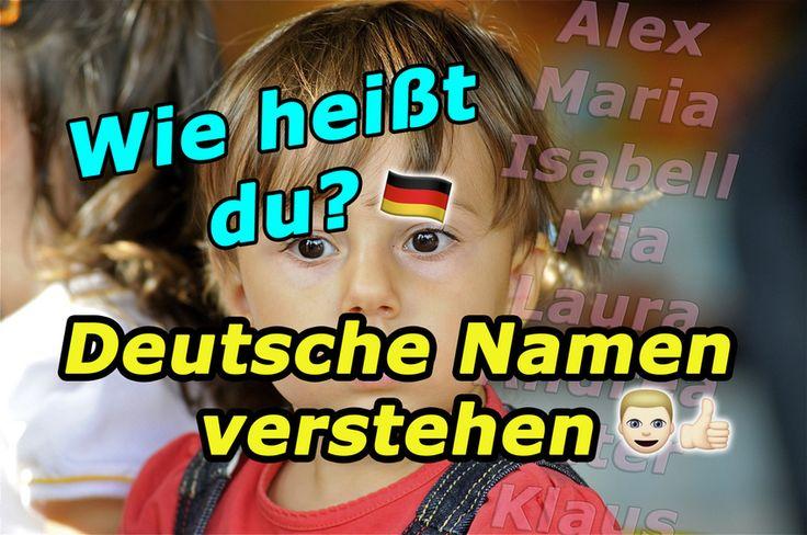 Deutsche Namen verstehen