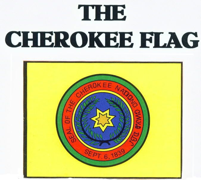 Cherokee Blackfeet Cultural Circle Online Trading Post | Lee Maine > Cherokee Flag ( DNN 2.1.2 )