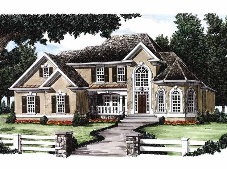 74 best traditional house plans images on pinterest home for American dream home plans