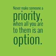 Priority/Option