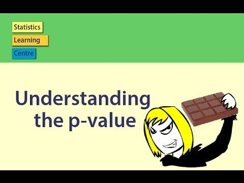 This video explains how to use the p-value to draw conclusions from statistical output. It includes the story of Helen, making sure that the choconutties she sells have sufficient peanuts. This is a remake of the popular video of the same name by UCMSCI. This video is part of the new app: AtMyPace: Statistics.