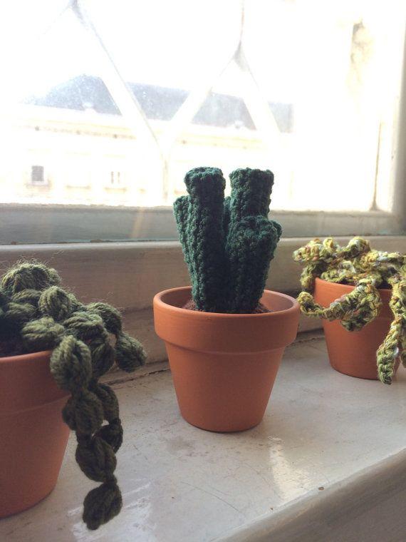 Deko Pflanze für deine Wohnung und fürs Büro von Gohli auf Etsy
