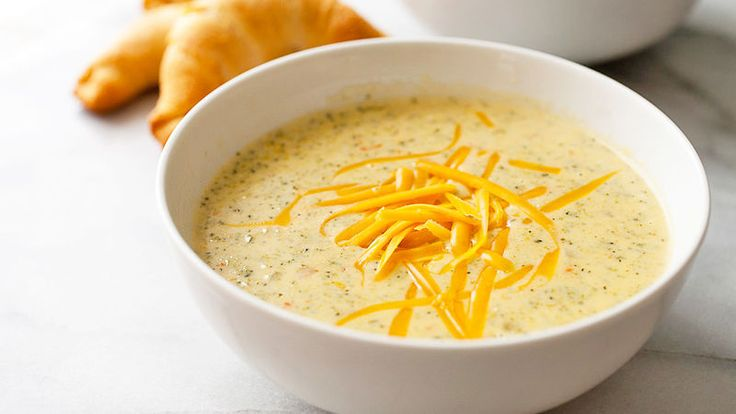 A homemade version of the very popular Panera Bread™ broccoli cheddar soup.