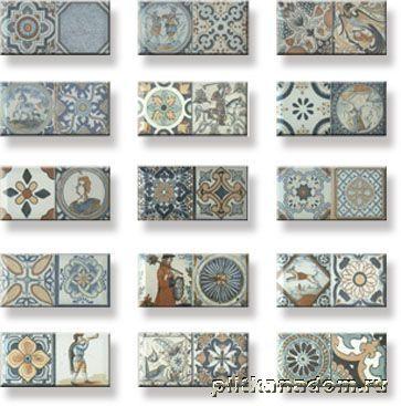 Купить Monopole Antique Настенная плитка 10х20