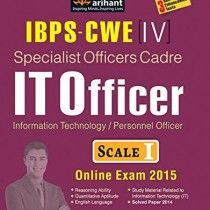IBPS-CWE Specialist Officer Cadre IT Officer Scale I Recruitment Exam