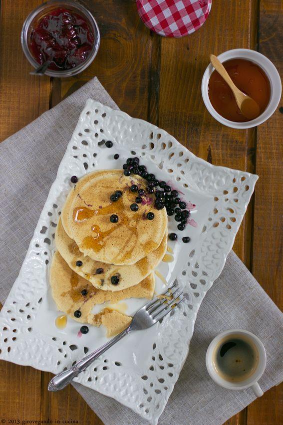 giroVegando in cucina - pancakes