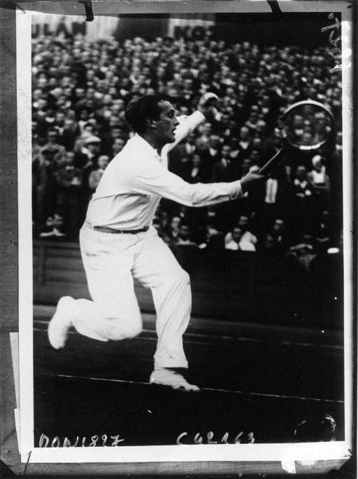 Tennis, Czechoslovak champion Manzel by Agence Mondial, 1932. National Library of France, Public Domain