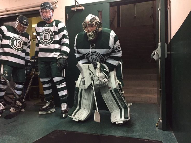 Dartmouth Univ. Hockey Uniform