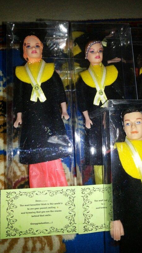 Graduation barbie