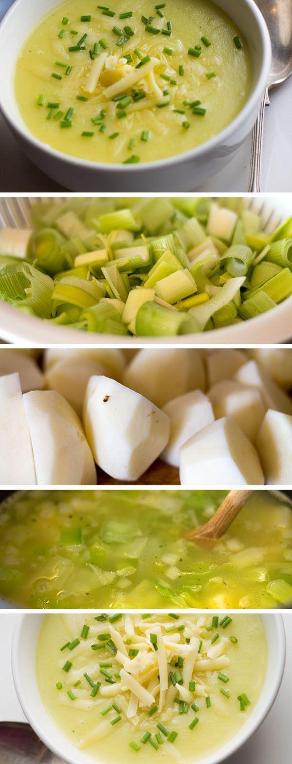 Un classique...le potage aux poireaux - Recettes - Recettes simples et géniales! - Ma Fourchette - Délicieuses recettes de cuisine, astuces culinaires et plus encore!