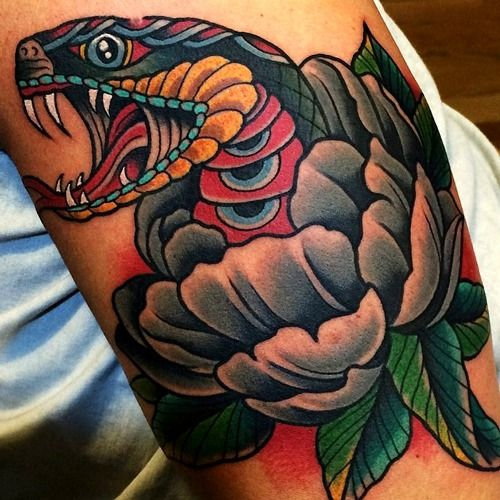Colorful Snake Tattoos: 1424 Best Images About Tattoo On Pinterest