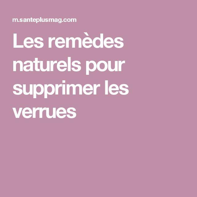 Les remèdes naturels pour supprimer les verrues