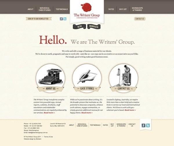 178 best Website {design} images on Pinterest