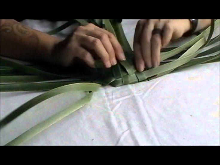 How to make a flax kono