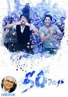 Manam Movie 50 Days Wallpapers, ANR, Nagarjuna, Naga Chaitanya, Samantha and Shriya starrer Manam film completed 50 days, Directed by Vikram Kumar,