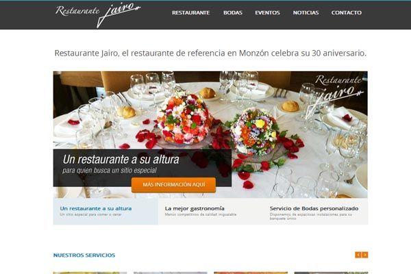 Restaurante Jairo, uno de los mejores de la zona de Monzón (Huesca) y alrededores >> restaurantejairo.com Servicios de SEO, Adwords, Social Media y web como forma de publicidad efectiva.  #SEO #AdWords #SocialMedia #Web #Aragon