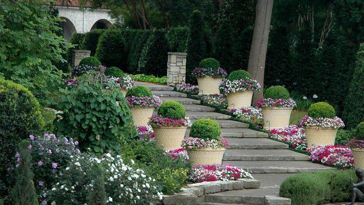 McCasland Sunken Garden - Dallas Arboretum
