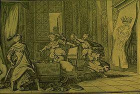 Chrétien de Troyes : Philomèle, Procné et Térée, les personnages de La Muance de la hupe, de l'aronde et del rossignol tirée des Métamorphoses d'Ovide. - Chrétien de Troyes s'est mis tout d'abord à l'école des auteurs latins. Il traduit et adapte 4 des Métamorphoses d'Ovide, dont seule Philoména nous est parvenue; puis l'Art d'aimer et Les commandements d'Ovide, également perdus.