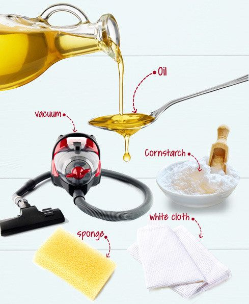 Get rid of stubborn vegetable-oil stains with these easy steps