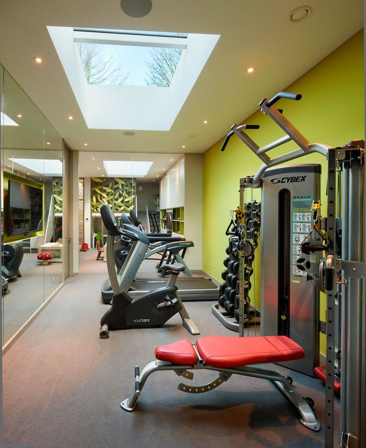 Basement Workout Area: 70 Best Condo Fitness Area Images On Pinterest
