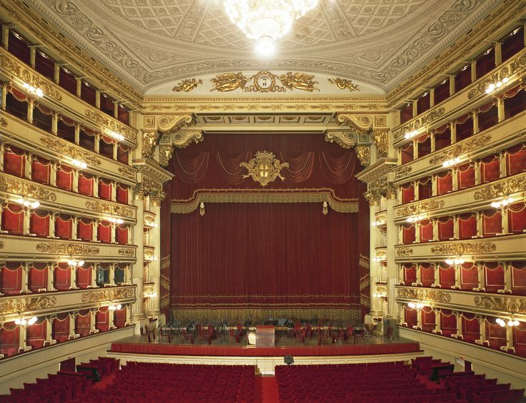 Teatro alla Scala, Milano. A 2004 renovation by Swiss architect Mario Botta revived one of Europe's foremost opera houses, Teatro alla Scala, which dates from 1778 (when it was completed for then-ruler Empress Maria Theresa of Austria).