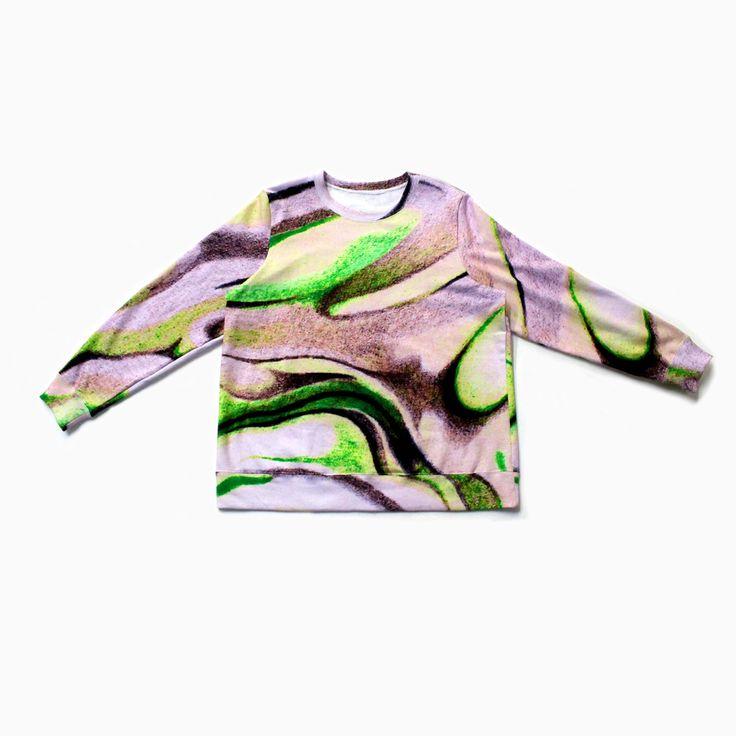 DEGEN + PAOM FW15 pink cloud sweatshirt