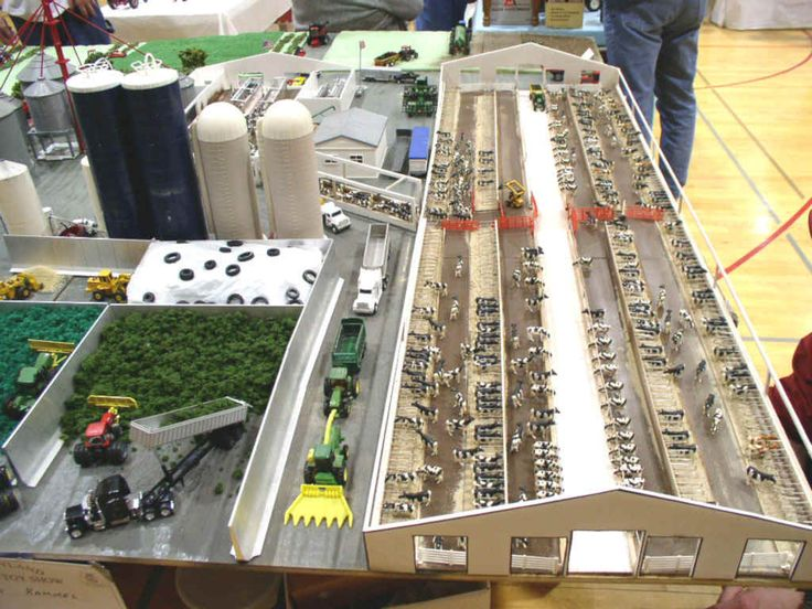 NX Dairy model - 400 cows and 5300 acres