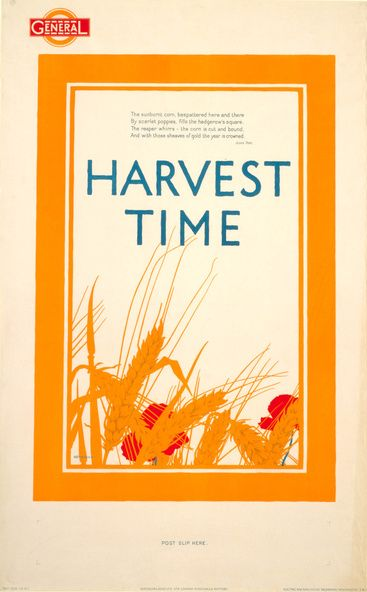 Harvest Time - Frank Newbould